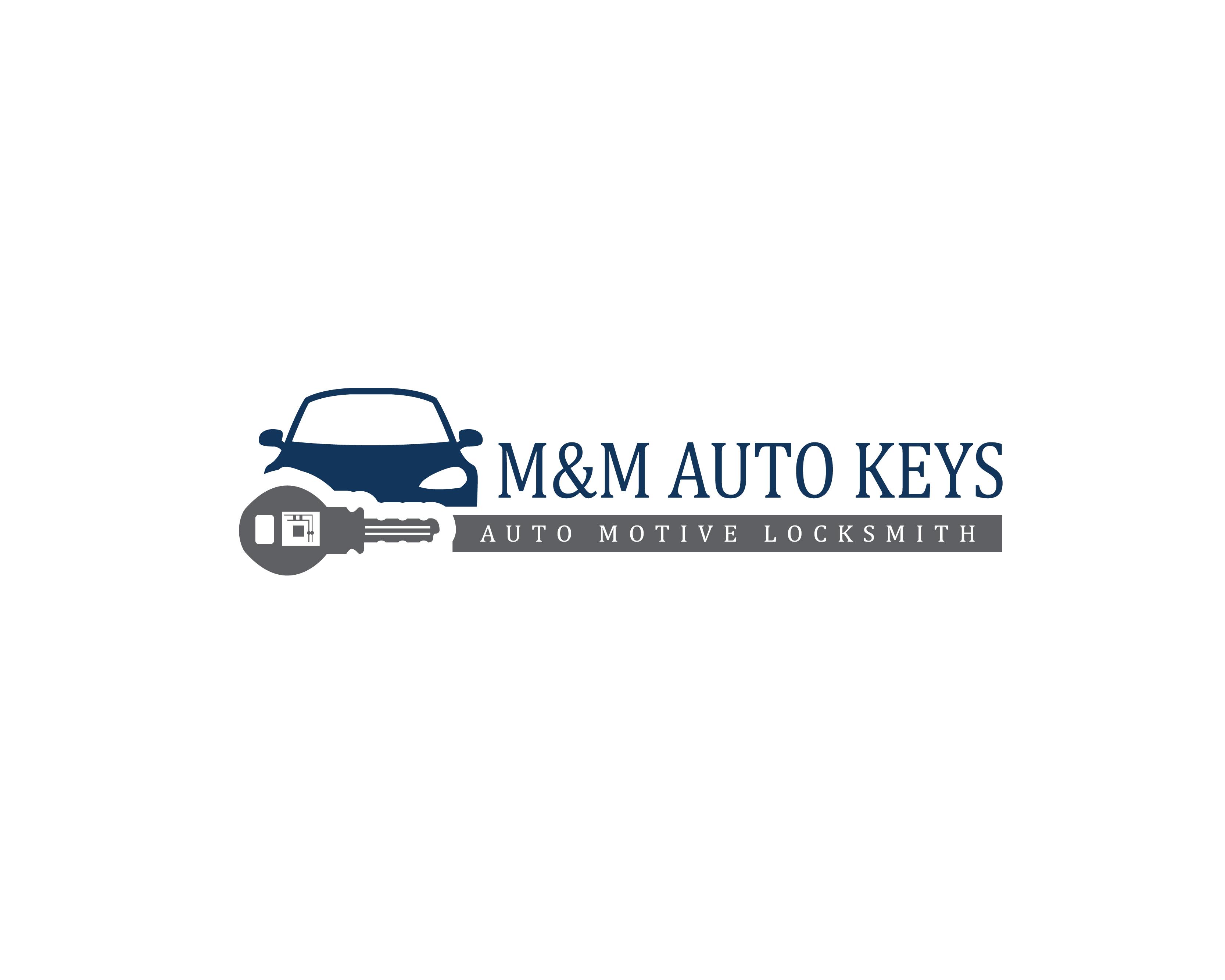 Logo Design Contest For M M Auto Keys Hatchwise