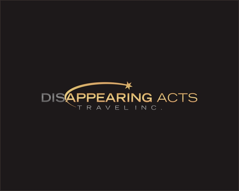 DISAPPEARING ACTS TRAVEL INC. - design #1669870