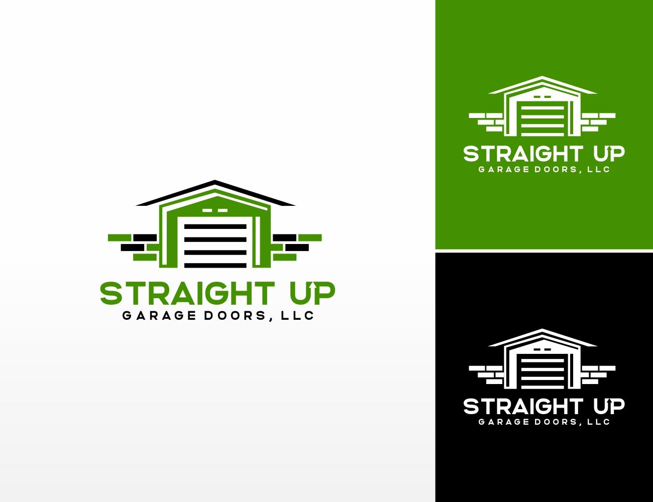 Logo Design Contest For Straight Up Garage Doors Llc Hatchwise