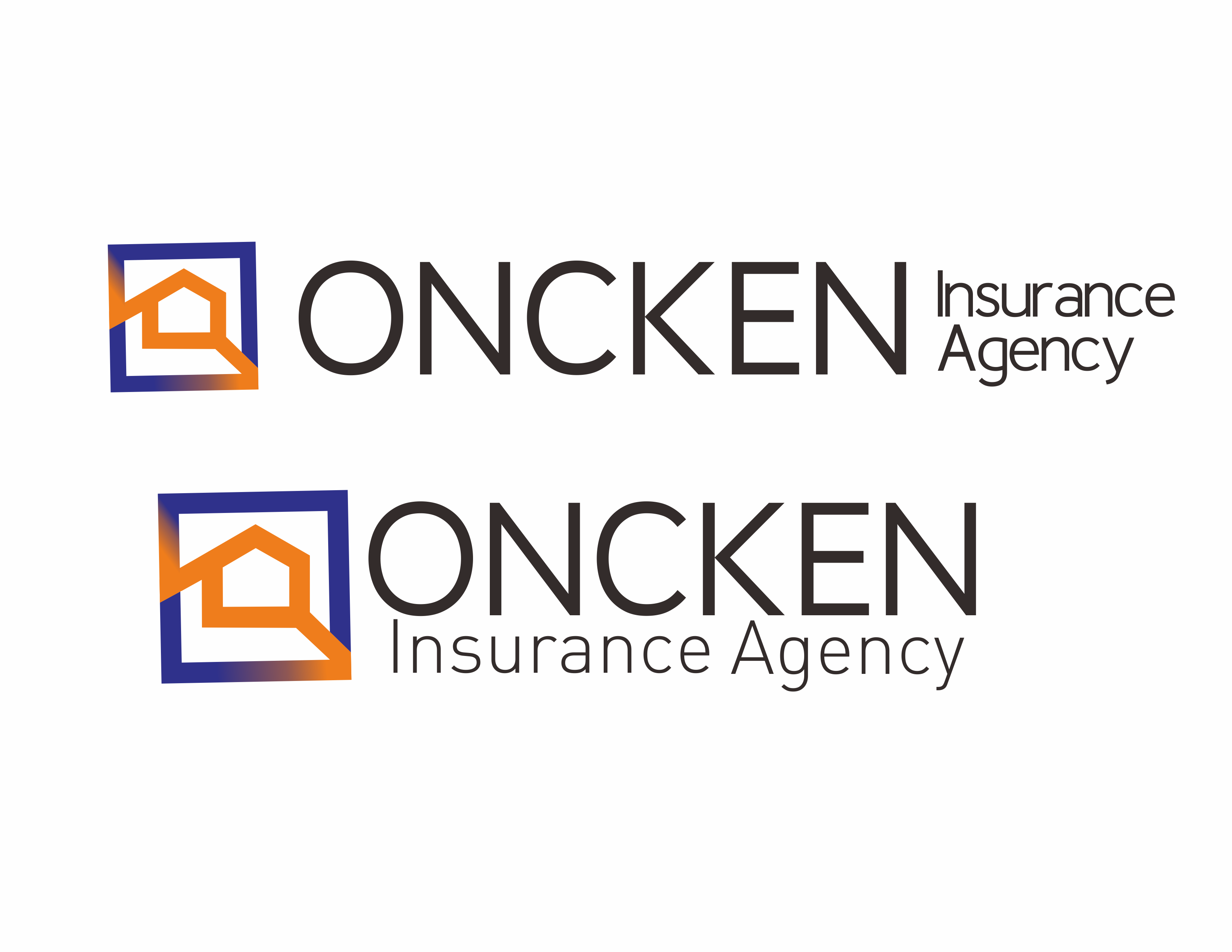 Logo Design Contest for Oncken Insurance Agency | Hatchwise
