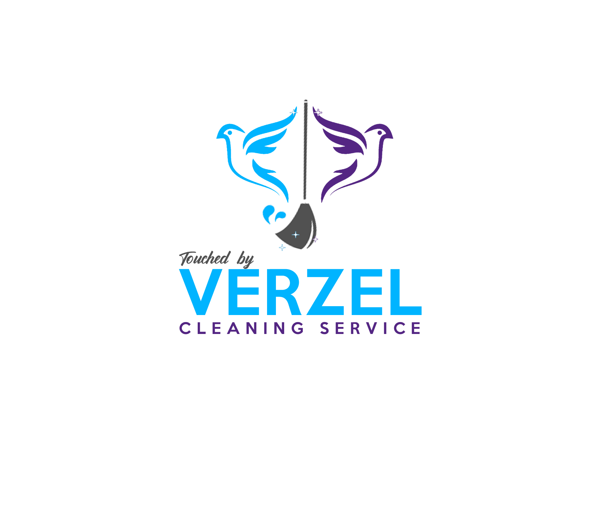 Touched By Verzel Cleaning Service - design #1892253